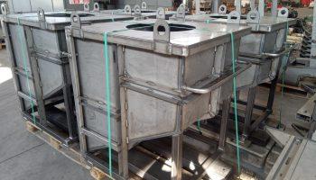 carpenteria Serbatoio per liquidi palettizabile